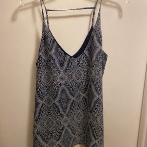 H&M patterned tank top
